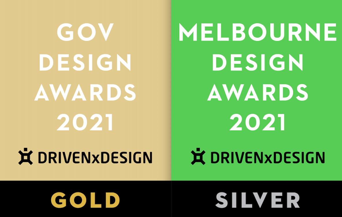 Awards blog image to support YC Wins Gold & Silver in DrivenxDesign Awards